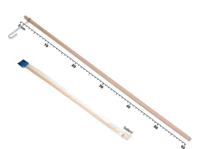 Držiak na lampión MFP 60cm drevený