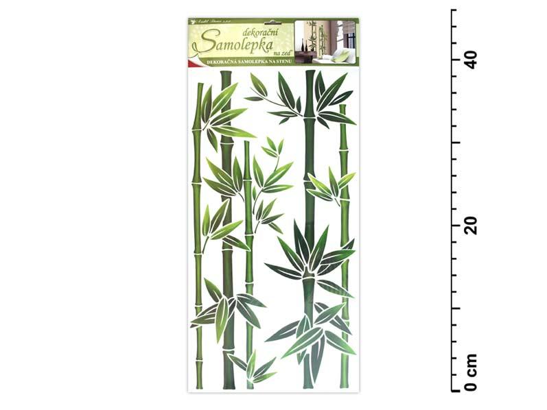 Samolepiaca dekorácia 1330 45x21cm bambus zelený