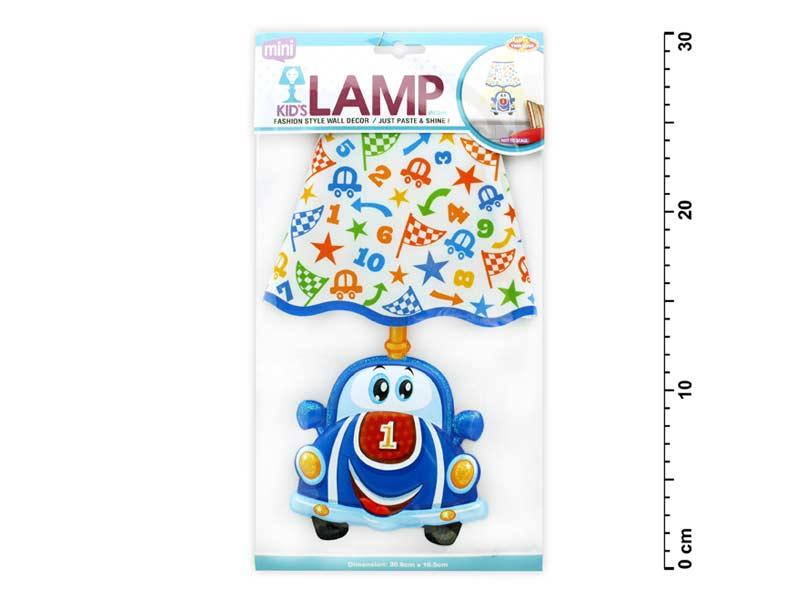 Samolepiaca dekorácia 887909 svietiaca LED auto
