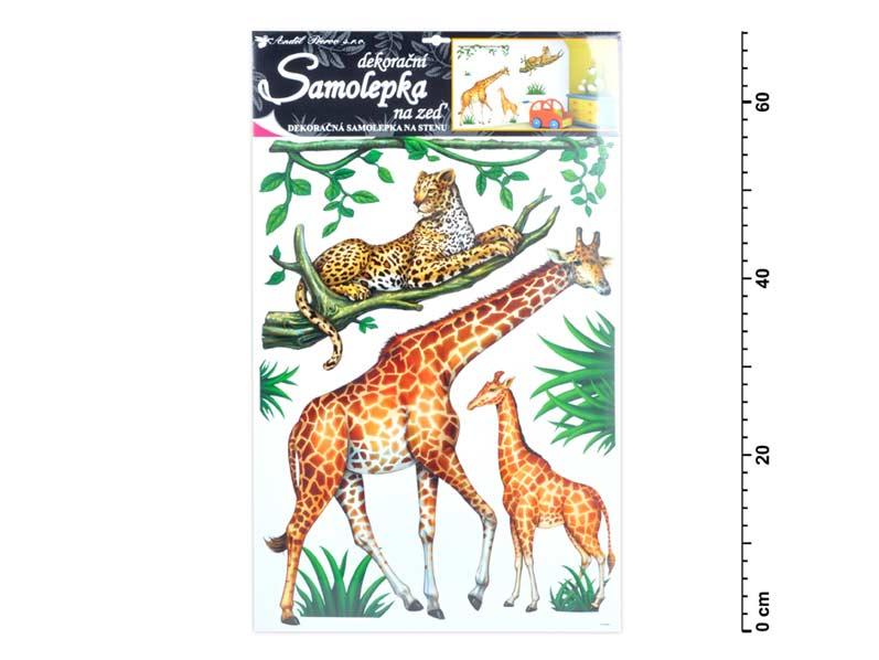 Samolepiaca dekorácia 10143 safari 60x42cm