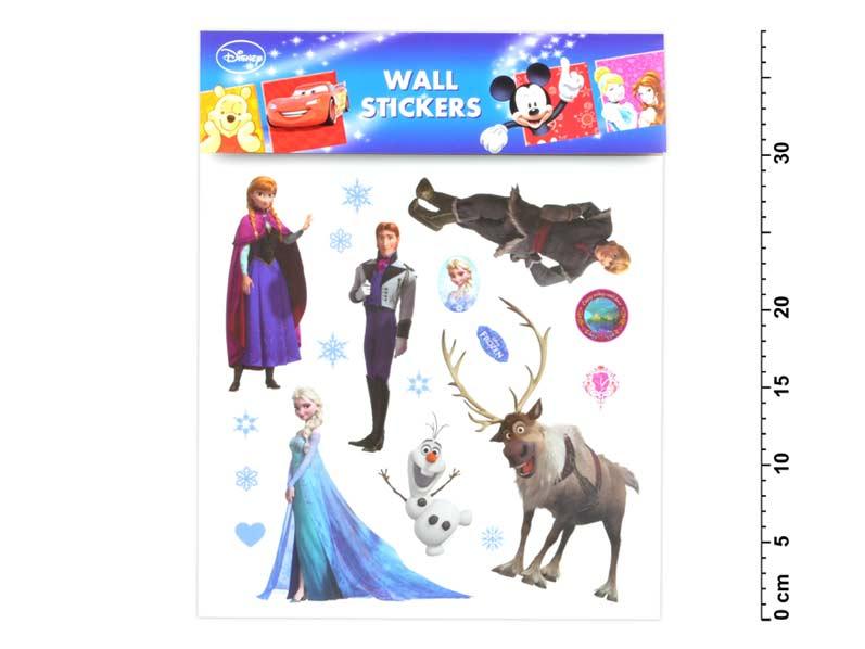 Samolepiaca dekorácia 21082 Disney Ledové kráľovstvo 30x30cm