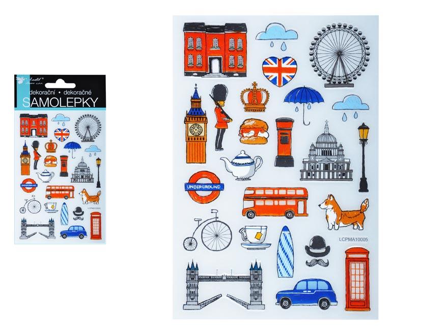 Samolepky 15021 Londýn 15 x 10 cm