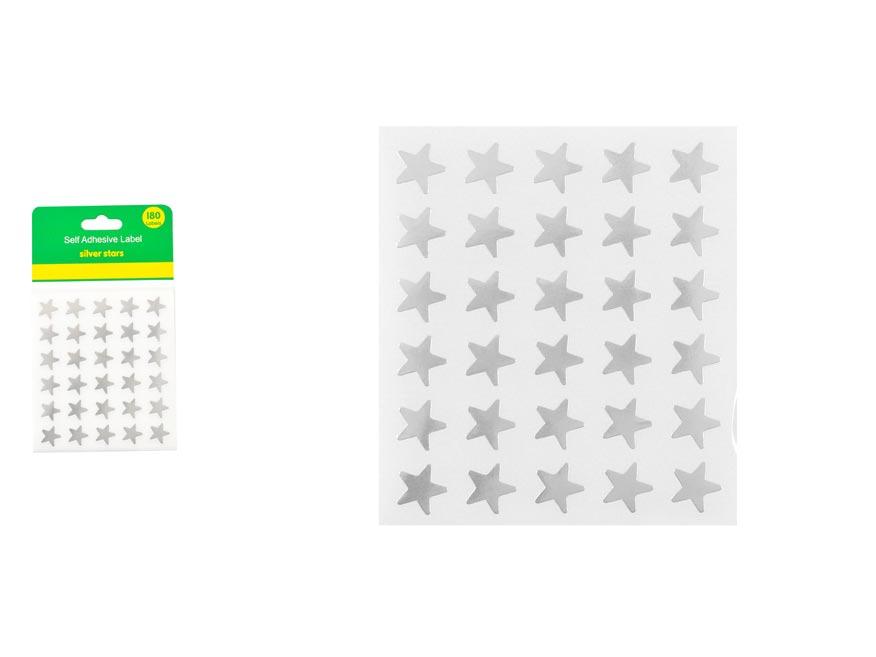 Samolepky  W007160 Hviezdy
