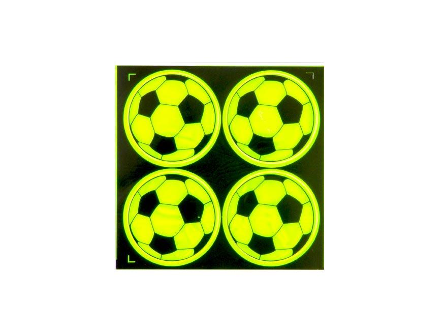 Samolepky  W007161 fosforové Fotbal
