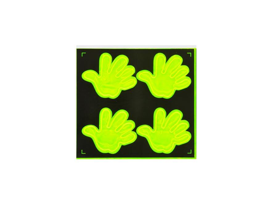 Samolepky  W007162 fosforové Tlapky