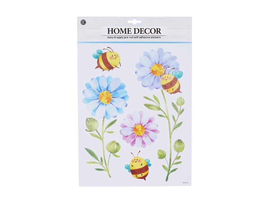 Samolepiaca dekorácia W009662 41,5x28 cm Kvety
