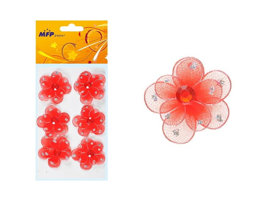 Magnet kvet 6ks OR022