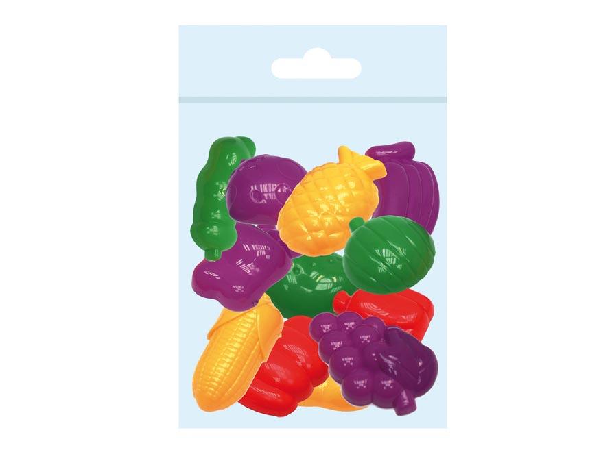 Sada tvorítok 3D 12ks na modelovanie,ovocie a zelenina