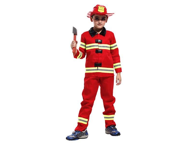 Kostým hasič, L