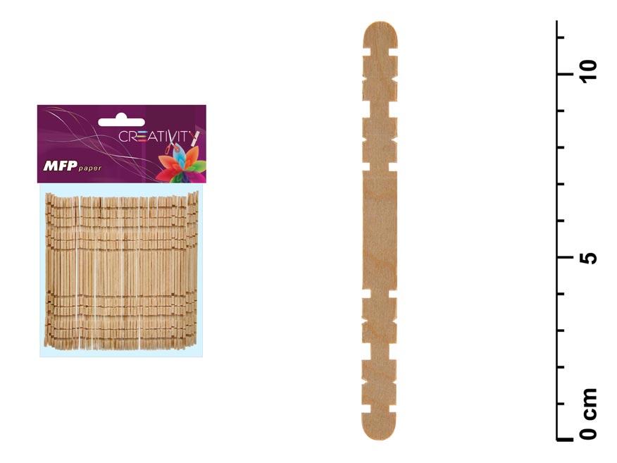 Paličky drevené set 11,3x1x0,2cm/48ks