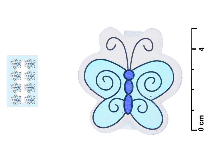 Štipce 816263 motýľ 8ks