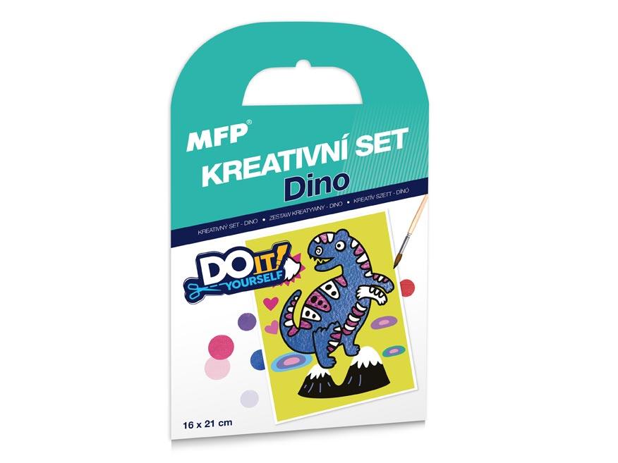 kreatívny set - Dino - piesková technika 1041990