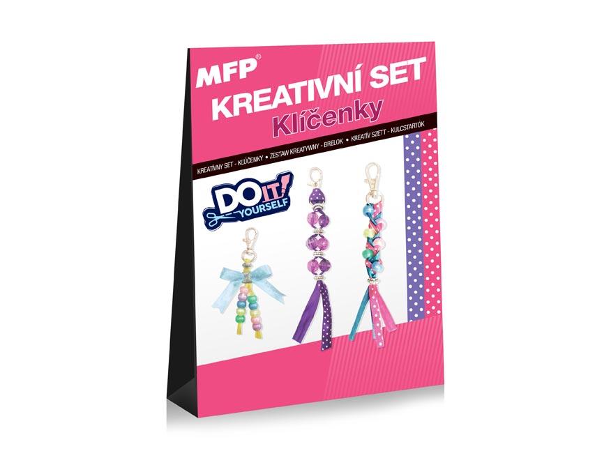Kreatívny set - Kľúčenky 3ks