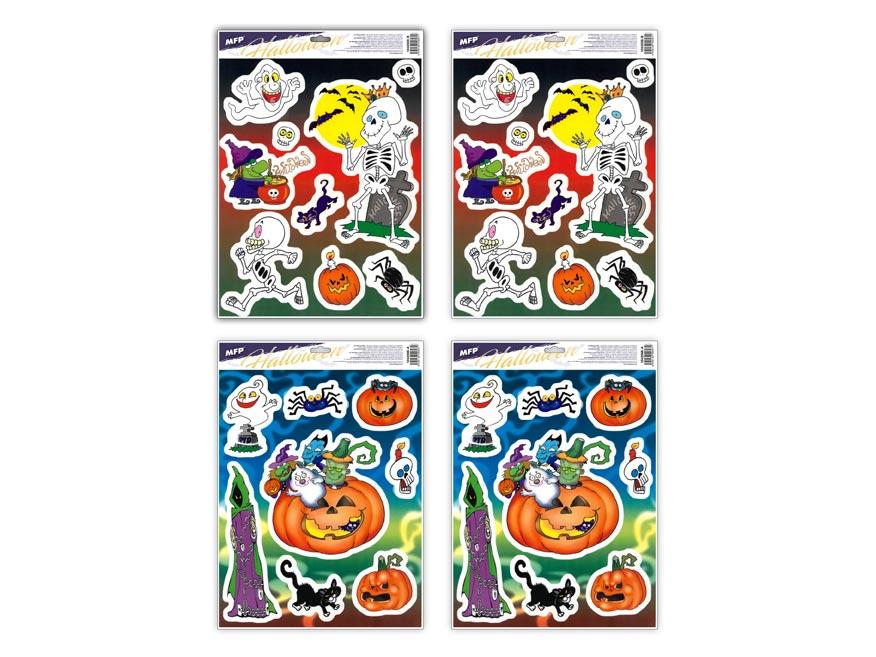 okenná fólia halloween HA005 30x42cm 1042006