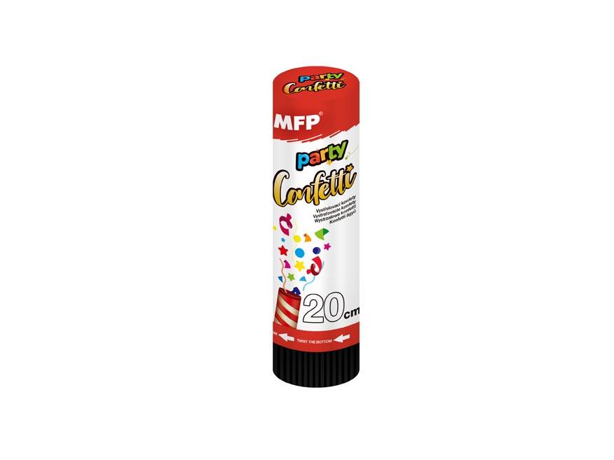 konfety vystrelovacie 20cm metal - pružina 1042010