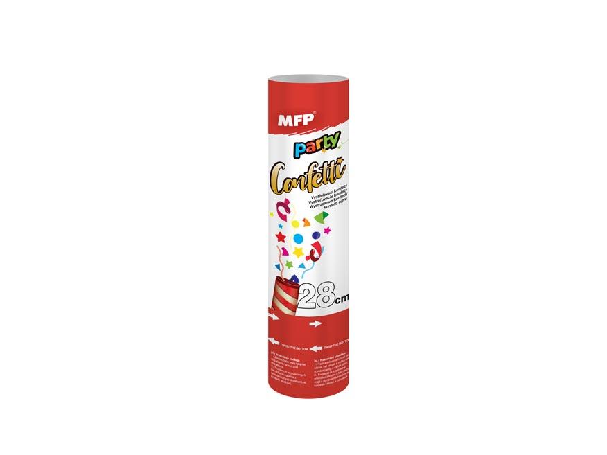 konfety vystrelovacie 28cm papier - vzduch 1042011