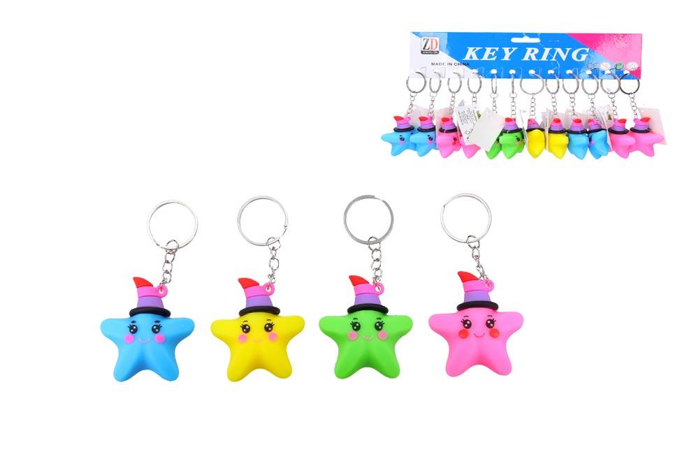 Kľúčenka W010935 hviezdica