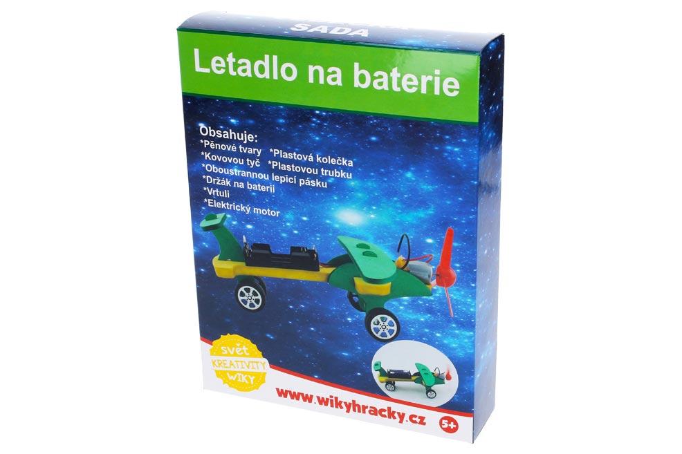 Kreatívny set W011651 Lietadlo na baterky