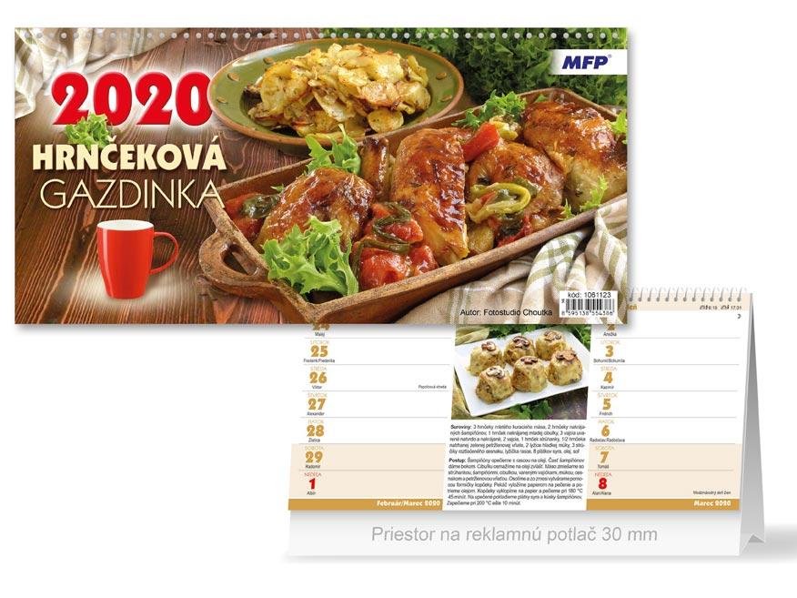 SK Kalendár 2020 stolový Hrnčeková gazdinka (štrnásťdenný)