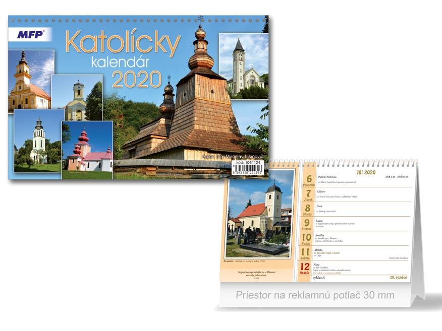 SK Kalendár 2020 stolový Katolícky