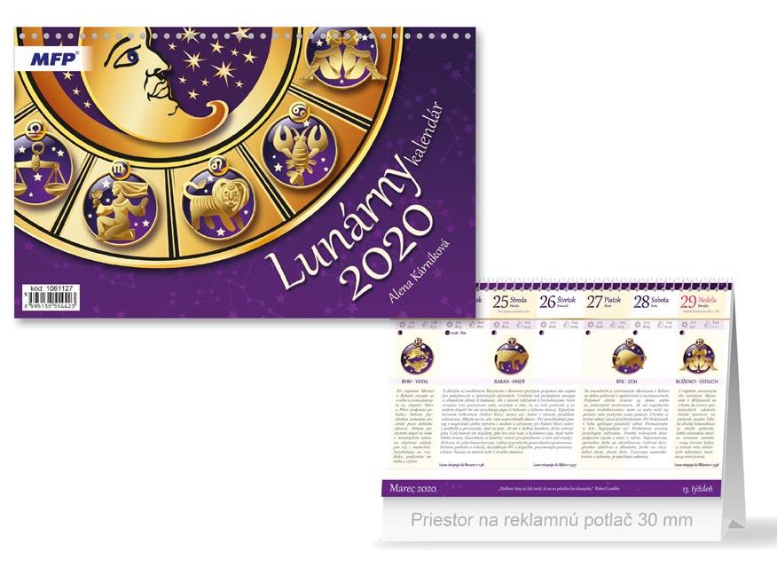SK Kalendár 2020 stolový Lunárny