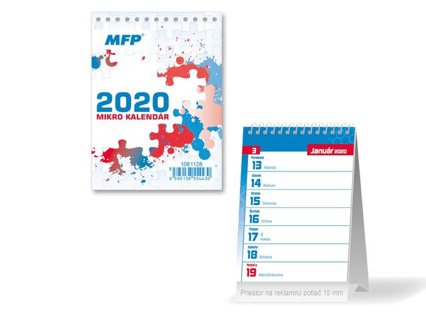 SK Kalendár 2020 stolový Mikro