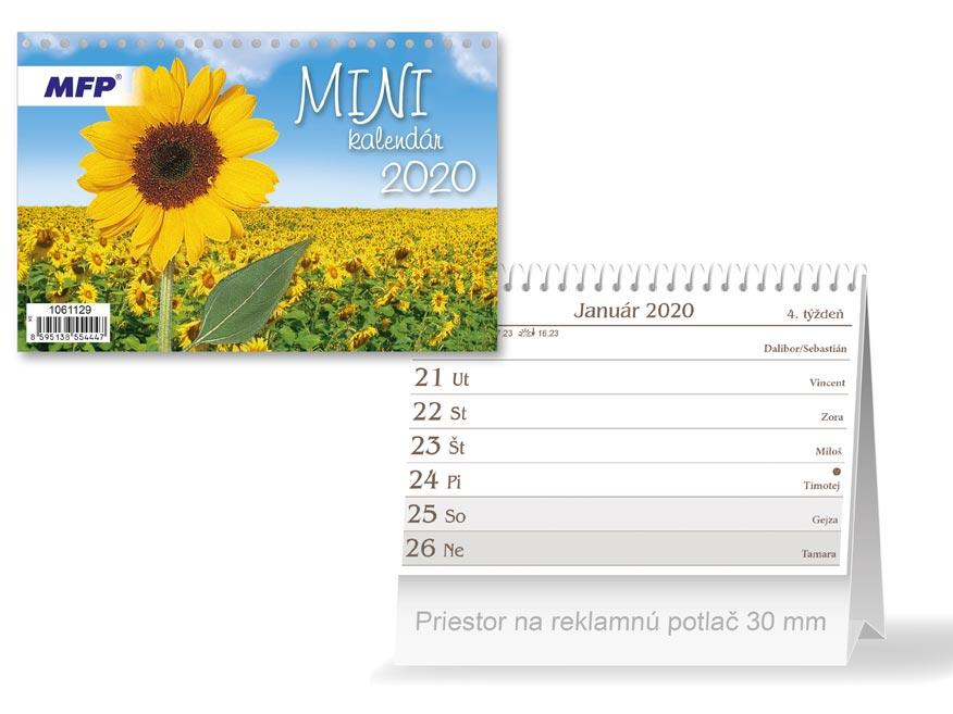 SK Kalendár 2020 stolový mini