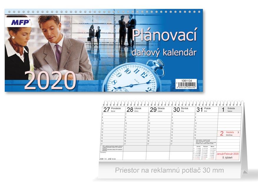 SK Kalendár 2020 stolový plánovací - daňový