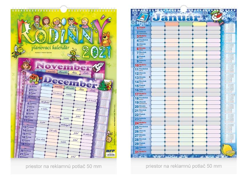 sK Kalendár 2021 nástenný Rodinný 1061214