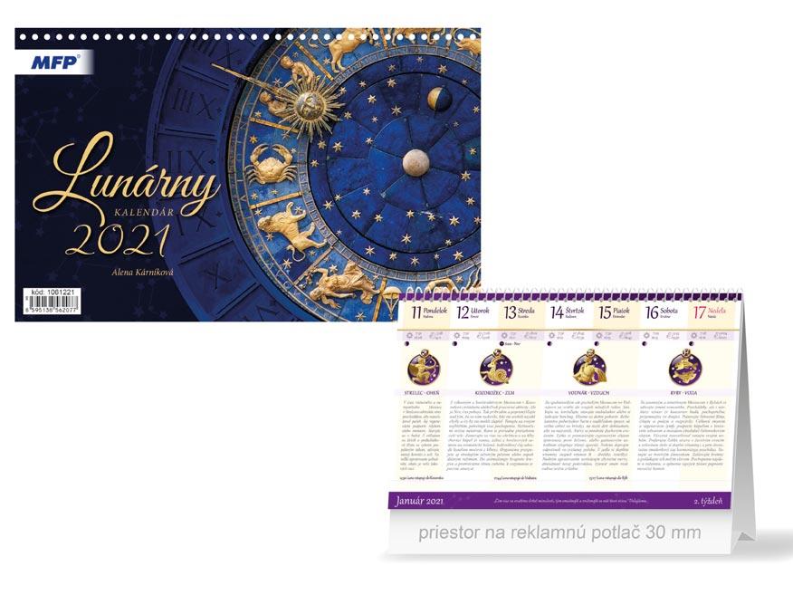 sK Kalendár 2021 stolový Lunárny 1061221