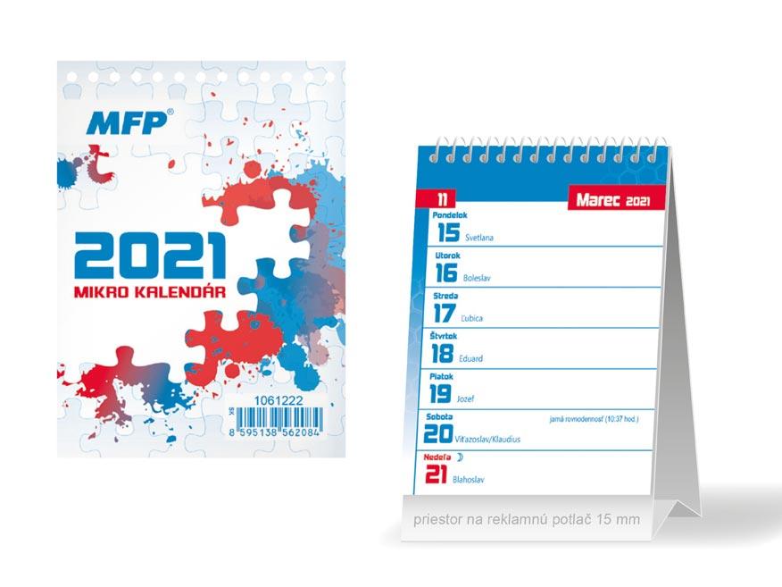 SK Kalendár 2021 stolový Mikro