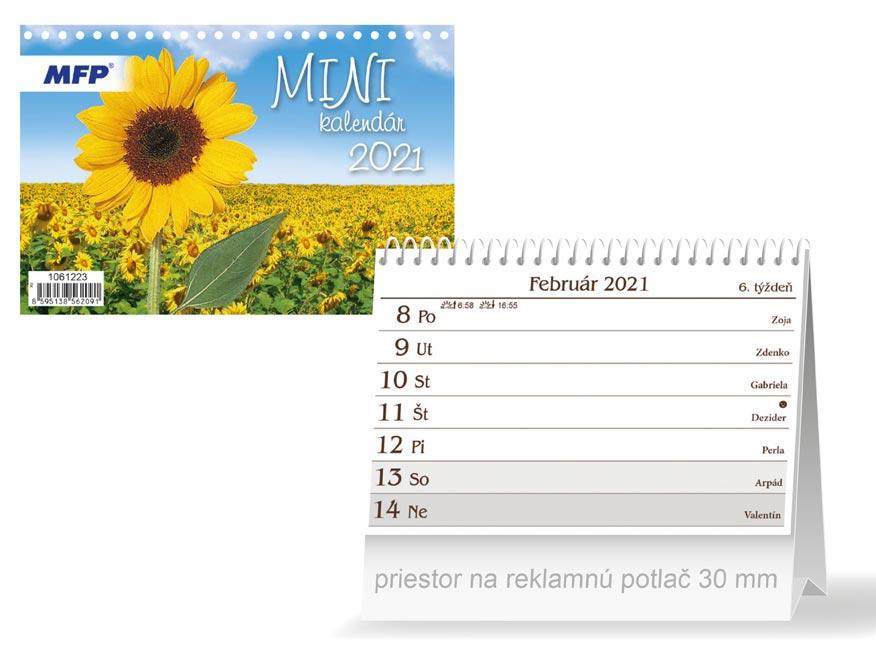 SK Kalendár 2021 stolový Mini