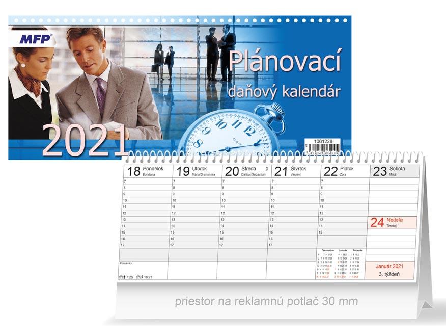 sK Kalendár 2021 stolový Plánovací - daňový 1061228