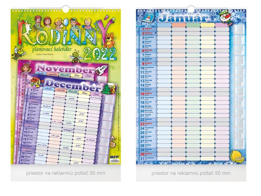 sK Kalendár 2022 nástenný Rodinný 1061307