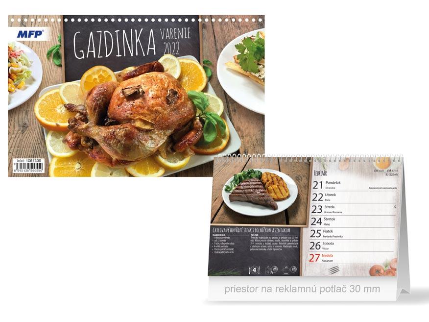 sK Kalendár 2022 stolový Gazdinka - varenie 1061309