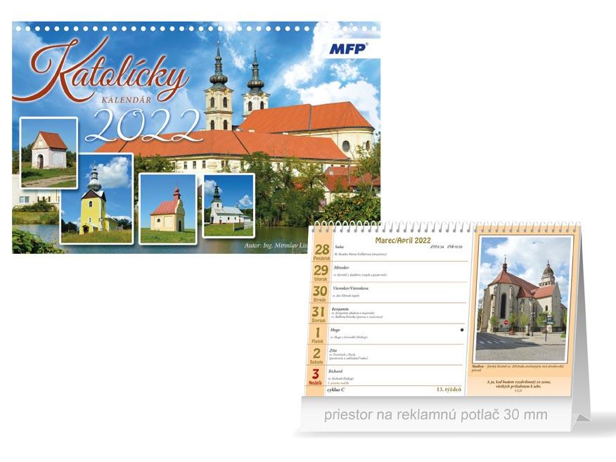 sK Kalendár 2022 stolový Katolícky 1061311