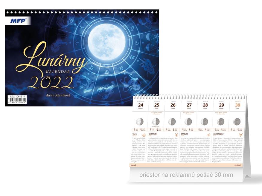 sK Kalendár 2022 stolový Lunárny 1061314