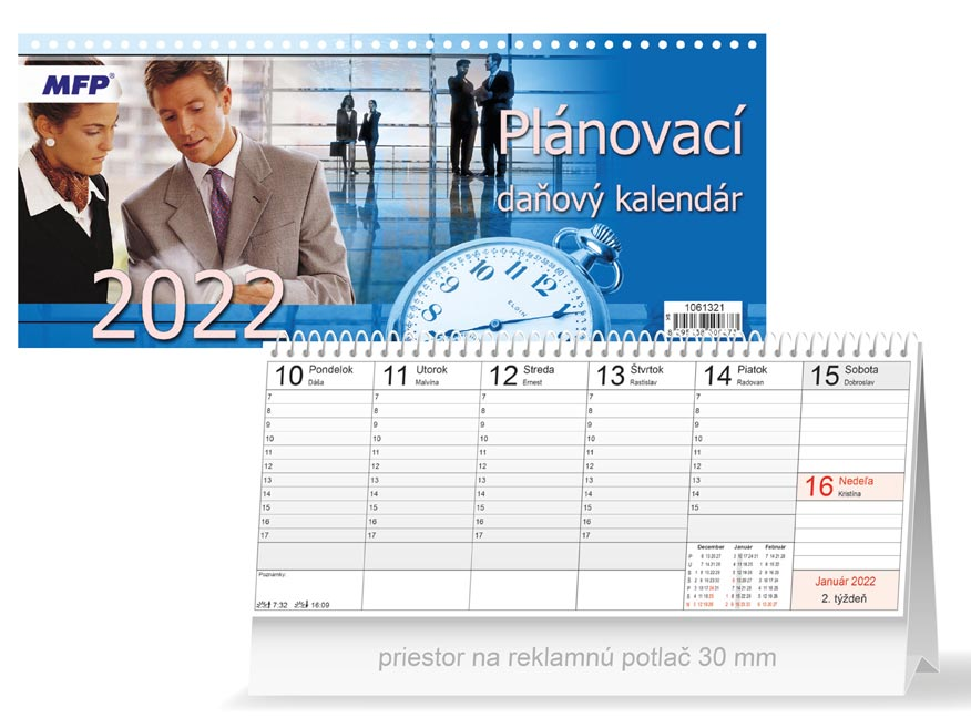 sK Kalendár 2022 stolový Plánovací - daňový 1061321