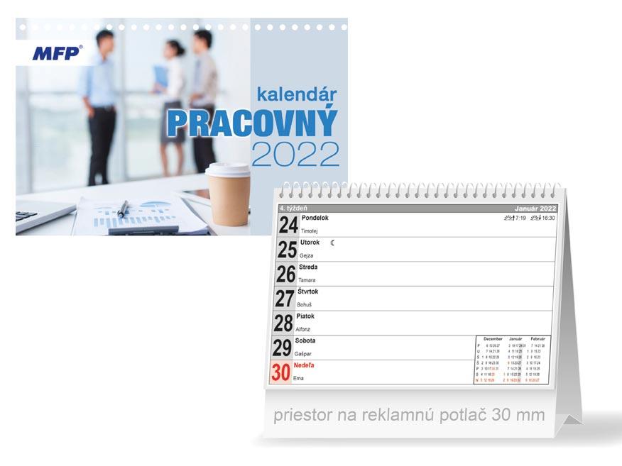 sK Kalendár 2022 stolový Pracovný - pracovný 1061324