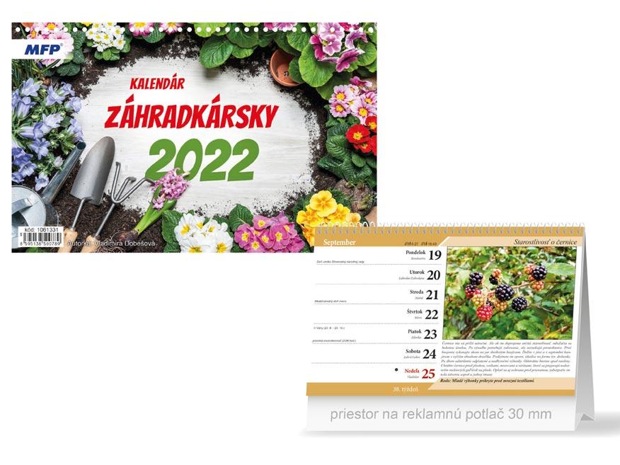 sK Kalendár 2022 stolový Záhradkársky 1061331