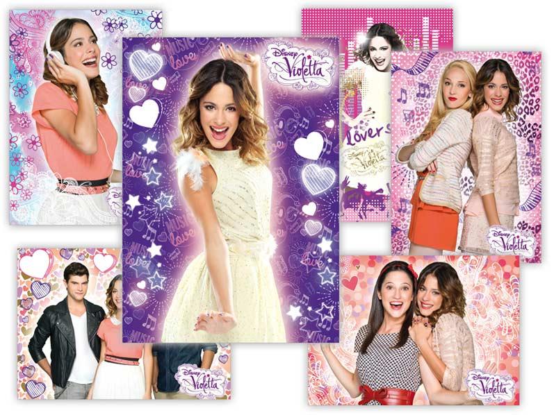 pohľadnica srdečná Y013 F Disney (Violetta) UV 1230280