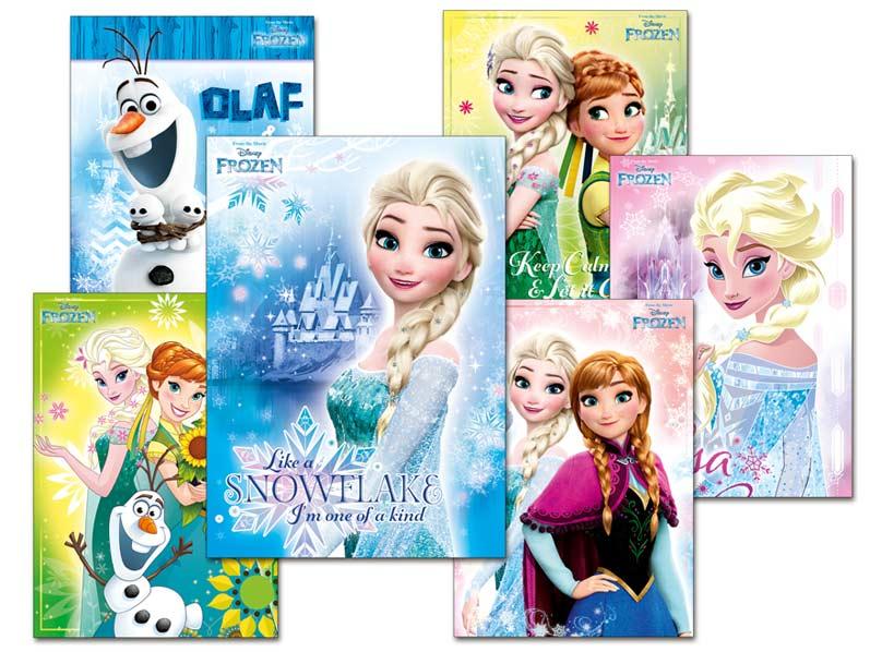 Pohľadnica srdečná Y016 F Disney (Frozen) UV