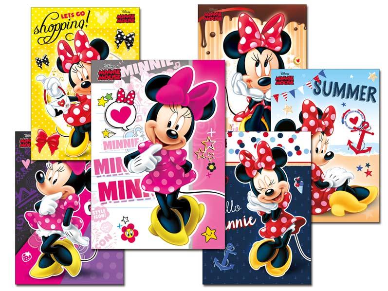 Pohľadnica srdečná Y018 F Disney (Minnie) UV