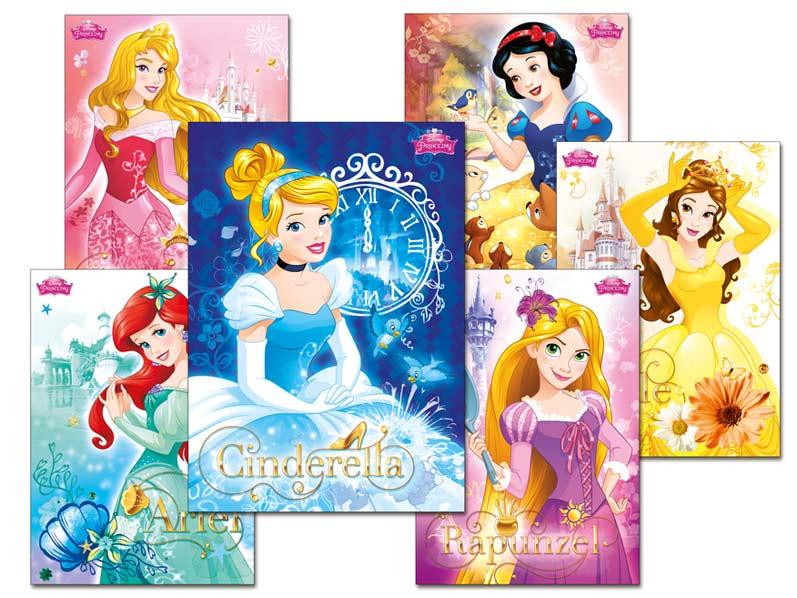 Pohľadnica srdečná Y020 F Disney (Princess) UV