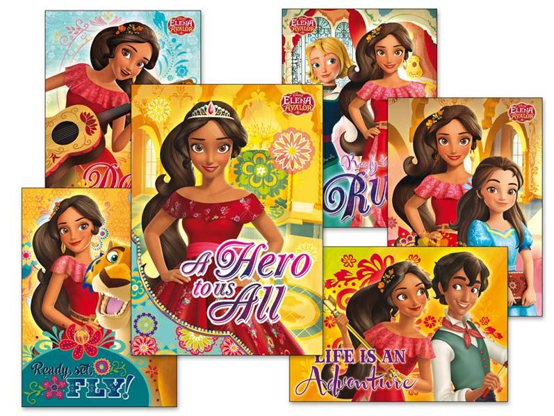 Pohľadnica srdečná Y021 F Disney (Elena of Avalor) UV
