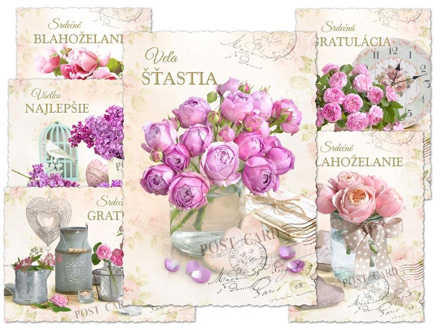 sK Pohľadnica srdečná R054 C výsek 1230305