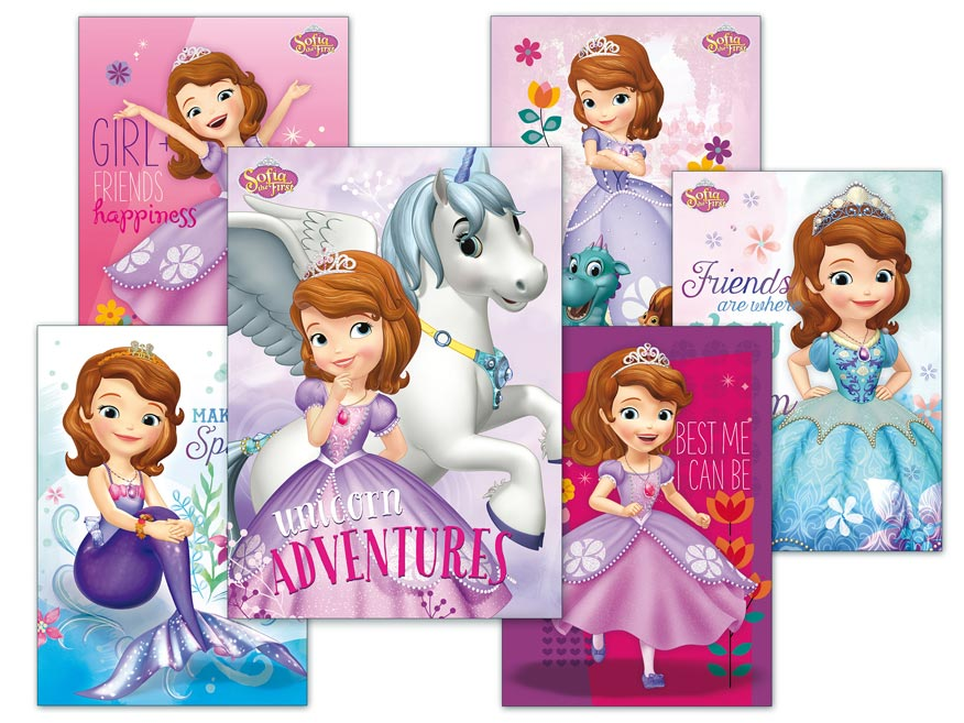 Pohľadnica sr Y023 F Disney (Sofia the First) UV