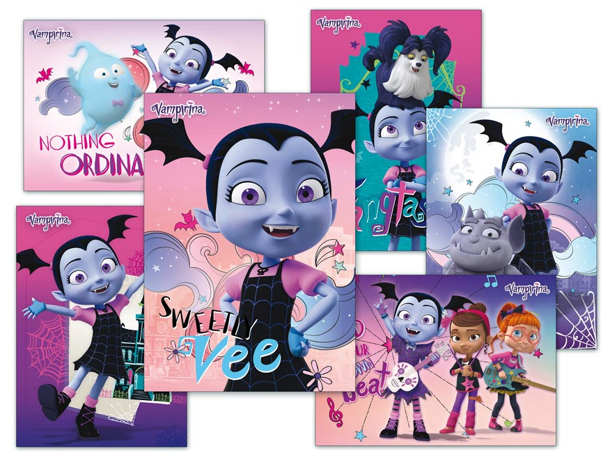 Pohľadnica sr Y024 F Disney (Vampirina) UV