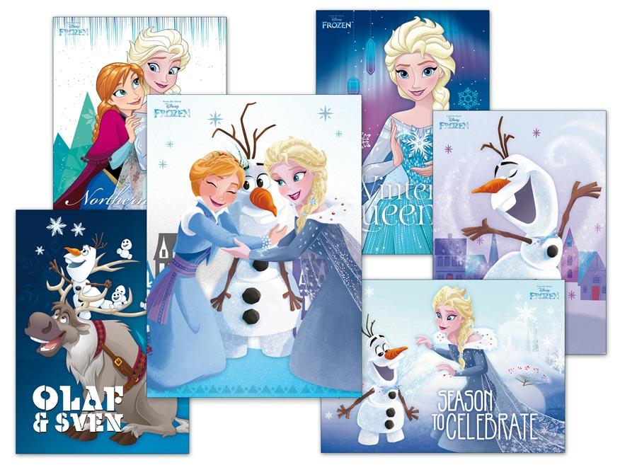 Pohľadnica sr Y025 F Disney (Frozen) UV