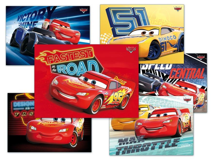 Pohľadnica sr Y026 F Disney (Cars) UV